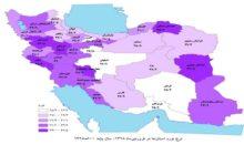 نرخ تورم گیلان از نرخ تورم کل کشور پایینتر است