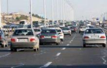 ترافیک در ورودی شهر رودبار سنگین است