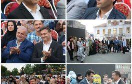 اختتامیه فصل دوم تئاتر خیابانی در پیاده راه فرهنگی شهرداری رشت با حضور شهردار رشت