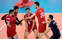 صعود والیبال جوانان ایران به صدر رنکینگ جهانی