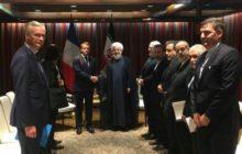 روحانی و مکرون دیدار کردند / انتقاد روحانی از بیانیه مشترک تروئیکای اروپایی