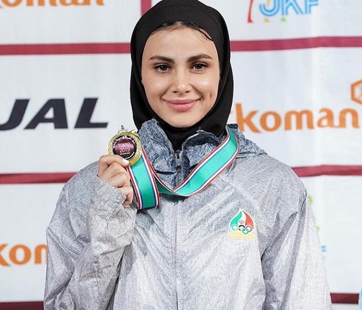 سارا بهمنیار بانوی کاراته کای گیلانی، ستاره این روزهای کاراته ایران