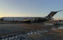 خروج هواپیمای تهران-ماهشهر از باند فرودگاه