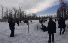 جشنواره مجسمه های برفی را برگزار کرد