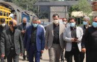 بازدید رئیس و اعضای شورای ششم شهر رشت از سراوان