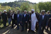 آغاز ساخت سد لاسک شفت با حضور وزیر نیرو