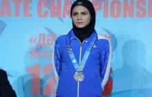 سارا بهمنیار به اردوی تیم ملی کاراته دعوت شد