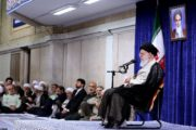 رهبر انقلاب در دیدار با مسئولان نظام:گزینه قطعی ملت ایران مقاومت است
