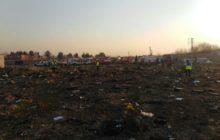 سقوط هواپیمای اوکراینی در نزدیکی فرودگاه امام خمینی(ره)