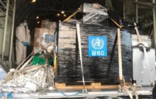 کمکهای سازمان بهداشت جهانی برای مبارزه با کرونا به تهران رسید