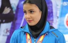 «سارا بهمنیار» اولین بانوی المپیکی تاریخ ورزش گیلان