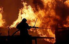 یک زن امامزاده باقر بیستون را به آتش کشید + جزئیات
